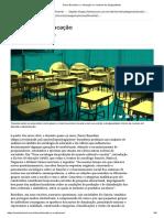 Pierre Bourdieu e a educação no contexto da desigualdade