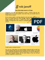 World Best Web Design Experts in Chicago