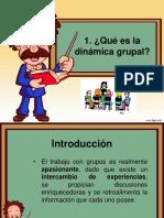 DINÁMICA GRUPAL Y ORÍGENES