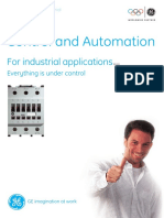 GE-INDUSTRIAL CONTROL AND AUTOMATION