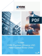 YORK YVWH Premium Efficiency VSD Water Cooled Screw Chiller Brochure.pdf