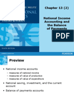 Topic 2 - National Income Accounting and the Balance of Payments