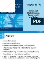 TOPIC 9 - Financial Globalization- Opportunity and Crisis