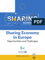 Sharing Economy in Europe – Opportunities and Challenges