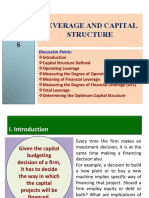 MBA 711 Chapter 06 Leverage and Capital Sturcture (2)