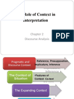 Chapter 2 and 3 discourse Analysis (Gillian Brown and George Yule).ppt