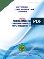 Proposal Pendirian Kantor Konsultaan PT XYZ Consulting.doc