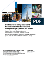 Best Practices for O&M PV Solar