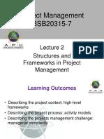 Project Management APU Lec 2