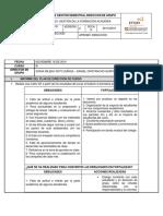 057 INFORME DE GESTION FINAL  DIRECION DE GRUPO 9A