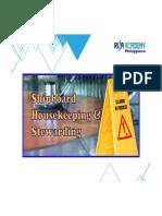SHIPBOARD HOUSEKEEPING_MODULE 1 Stewarding & Housekeeping Staff Job Description