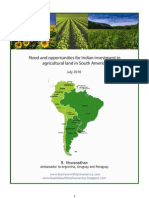 Agriarticle-business in South America
