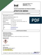 NITRATO DE AMONIO -A-1302