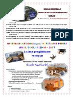 afiș pregatitoare 2016-2017
