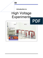 Introduction to HV Experiments   120913