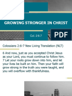 GROWING STRONGER IN CHRIST.pptx