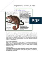 Adaptarea organismelor la mediul de viata - 1