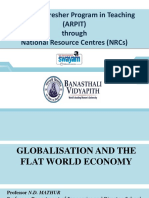 8 N D Mathur_Globalisation and the flat world economy (1).ppt