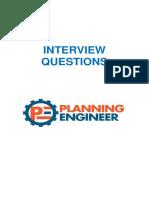 Planning interview