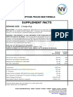 Supplement Facts - Neoceuticals - PRAXID NEW FORMULA (1)