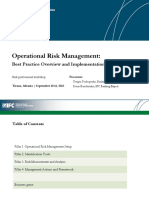 Export Credit Agency  operational risk training