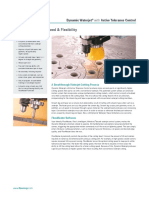 Dynamic Waterjet with Active Tolerance Control