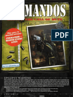 Commandos - Beyond the Call of Duty - Manual - PC