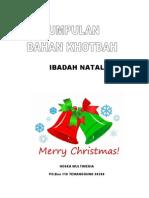 10 Bahan Khotbah Natal