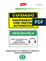 Banner segurança