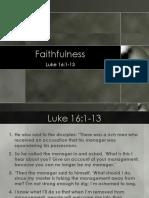 Faithfulness.ppt