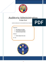 Auditoria Administrativa - Trabajo Final - UNISON