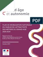Rapport El Khomri - plan metiers du grand age