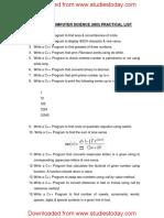 CBSE Class 11 Information Practices - C++ Practical List.pdf