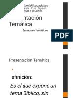 Clase #06 SERMÓN TEMÁTICO