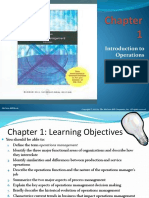 Chapter 01 Intro to Production and Operations management
