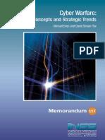 Cyber Warfare - Concepts and Strategic Trends