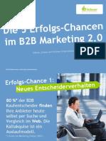 Die 5 Erfolgs-Chancen im B2B Marketing 2.0