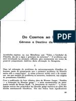 Marcelo F Aquino - DO Cosmos ao Homem - Gênese e Destino da Filosofia