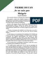 DUKAN, Pierre - Je Ne Sais Pas Maigrir