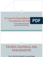 TEORIA GENERAL DEL PRECEDENTE - TRIBUNAL CONSTITUCIONAL DEL PERU