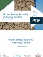 Urban Water Security Planning Toolkit
