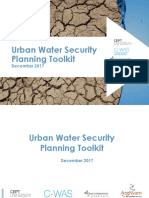 Urban Water Security Planning Toolkit