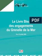 Le Livre Bleu Des Engagements Du Grenelle de La Mer - 10 Et 15 Juillet 2009