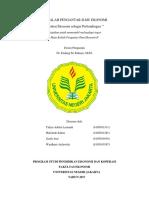 MAKALAH PENGANTAR ILMU EKONOMI cover