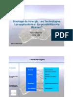 Francois Beaurain Stockage Energie Réunion