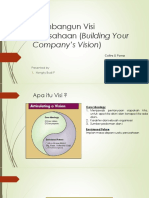 Membangun Visi Perusahaan (Building Your Company's Vision.pptx