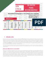 GUÍA DE EXCEL PARA ECONOMISTAS