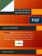 Fases clásicas del proceso administrativo