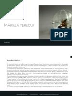 Mariela Yeregu PORTFOLIO