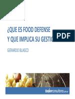 herramientas para food defense